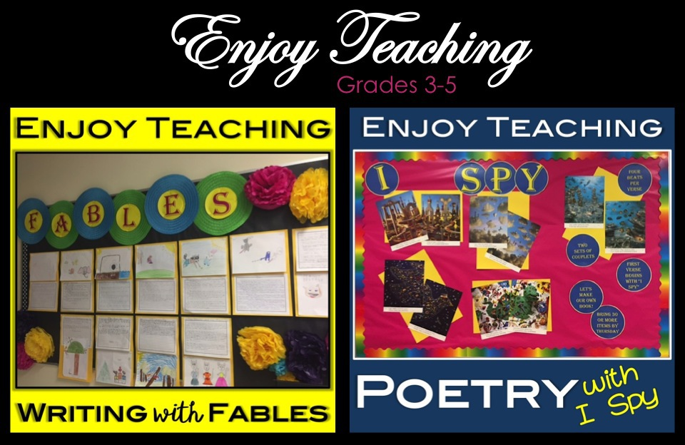 Enjoy Teaching - Ideas & Freebies