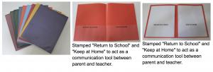 Organize Student Stuff - Folders