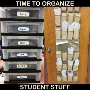Organize Student Stuff