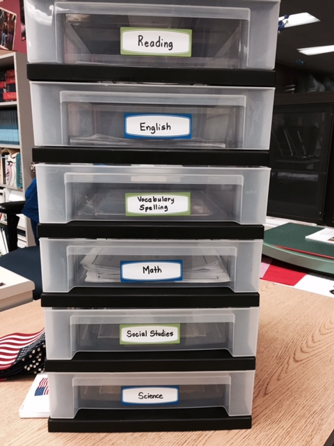 Organize Student Stuff - Turning In Assignments