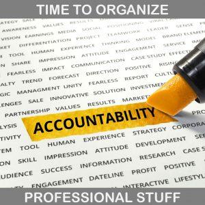 Organizing Professional Stuff
