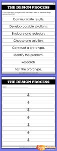 Use this cut and paste activity to help kids review the engineering design process.