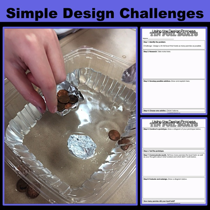 Simple STEM Design Challenges 1