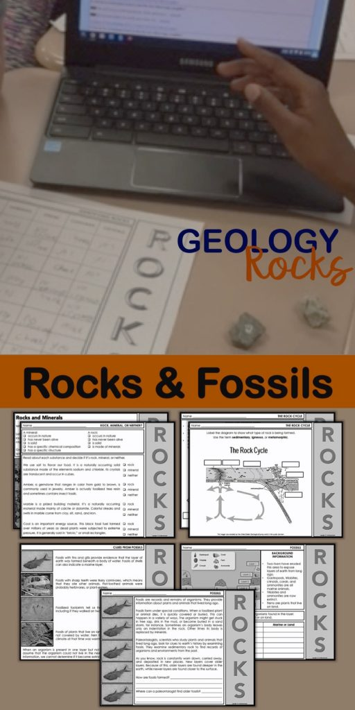 Teaching Rocks - Enjoy teaching rocks with this complete unit on rocks and minerals.