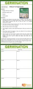 Enjoy Teaching Plants - Germination