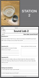 In this series of sound experiments, students explore how sound travels. They simulate compressions and rarefactions with a Slinky. In addition, they drop pebbles in water. Observations and generalizations are recorded on the lab sheet.