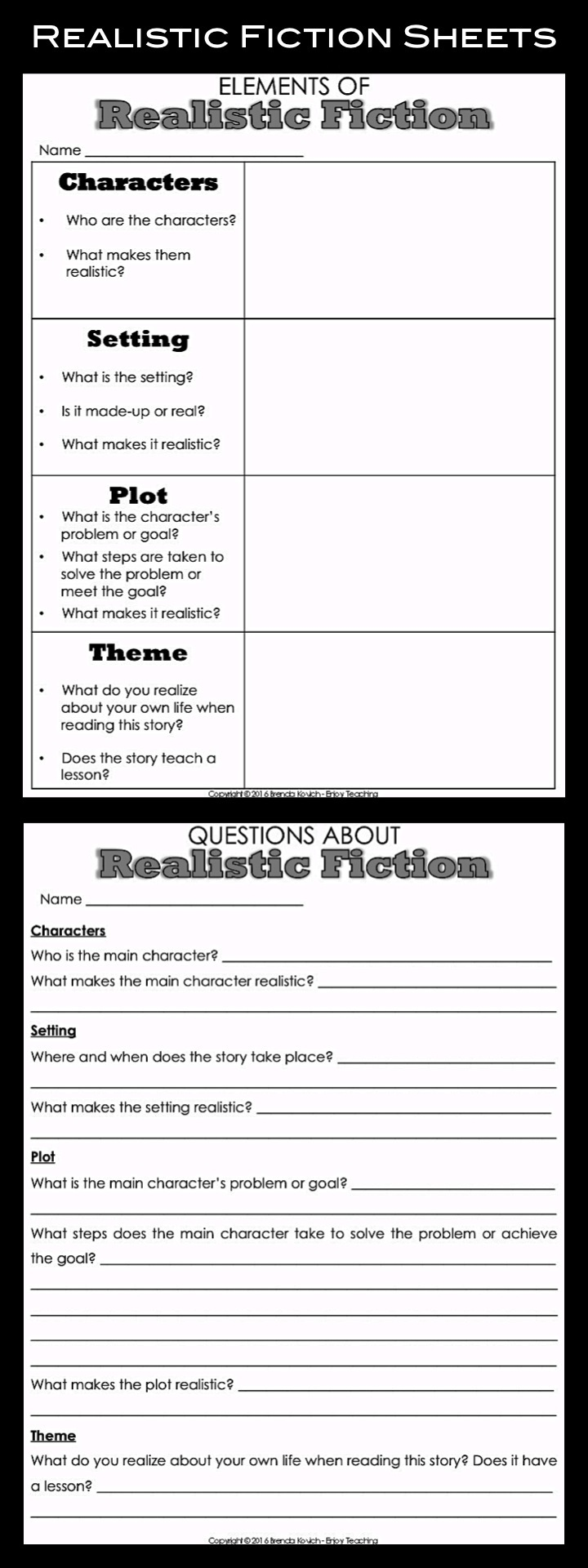 Teaching Realistic Fiction With Reading Activities For Kids Enjoy