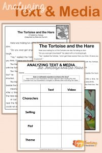 Teaching Fables - Analyzing Text and Media
