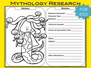 Mythology Research Example