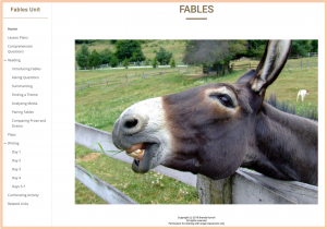 Teaching Fables Website