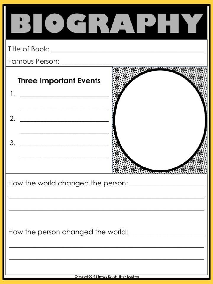 Enjoy Teaching Biography 6