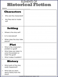 Teaching Historical Fiction 3