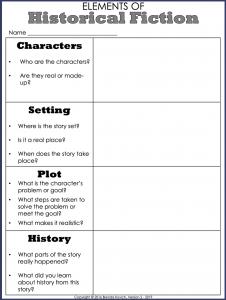 Teaching Historical Fiction 3