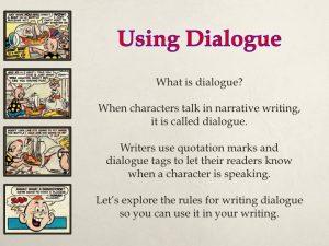 Teaching Dialogue 1