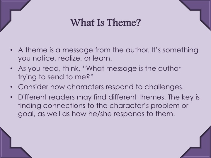 Teaching Theme 9