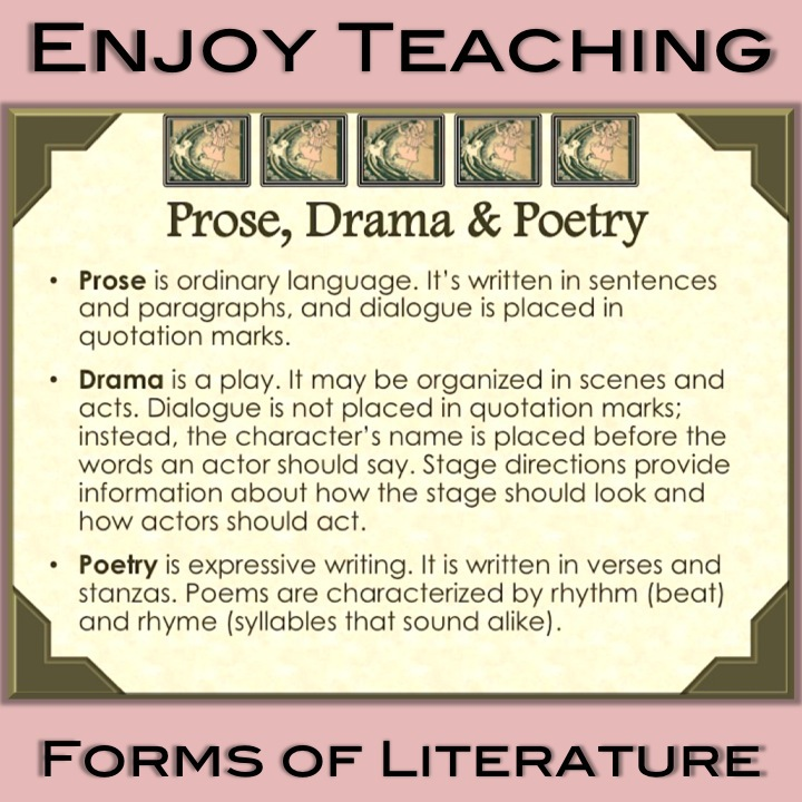 Teaching Prose, Drama, and Poetry