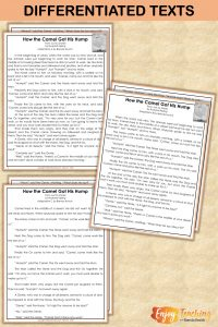Differentiated texts allow fourth grade teachers to reach each they teach. Check out this unit for teaching kids to describe characters, settings, and events. RL.4.3