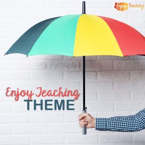 Enjoy Teaching Theme Cover