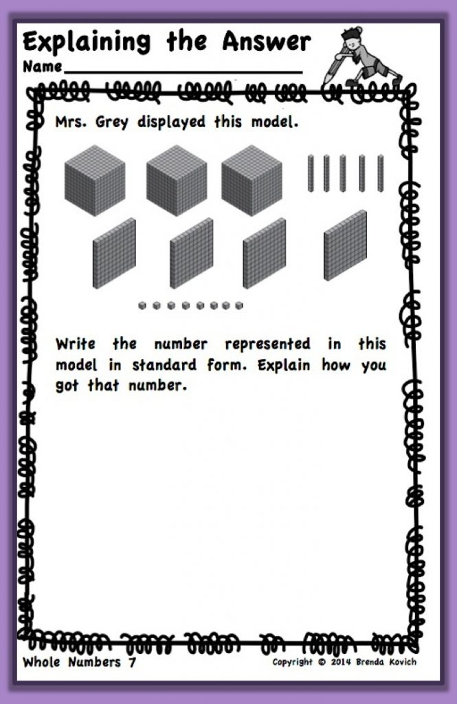 Teaching Multi-Digit Whole Numbers