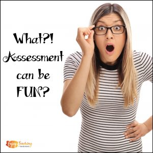 What? Baseline assessment can be fun?