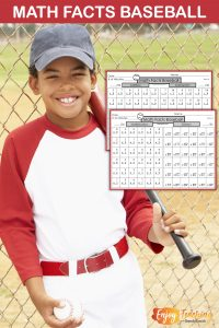 Do you want your fourth grade students to learn multiplication facts? Do they need to practice addition, subtraction, and division too? Try playing this math facts baseball game!