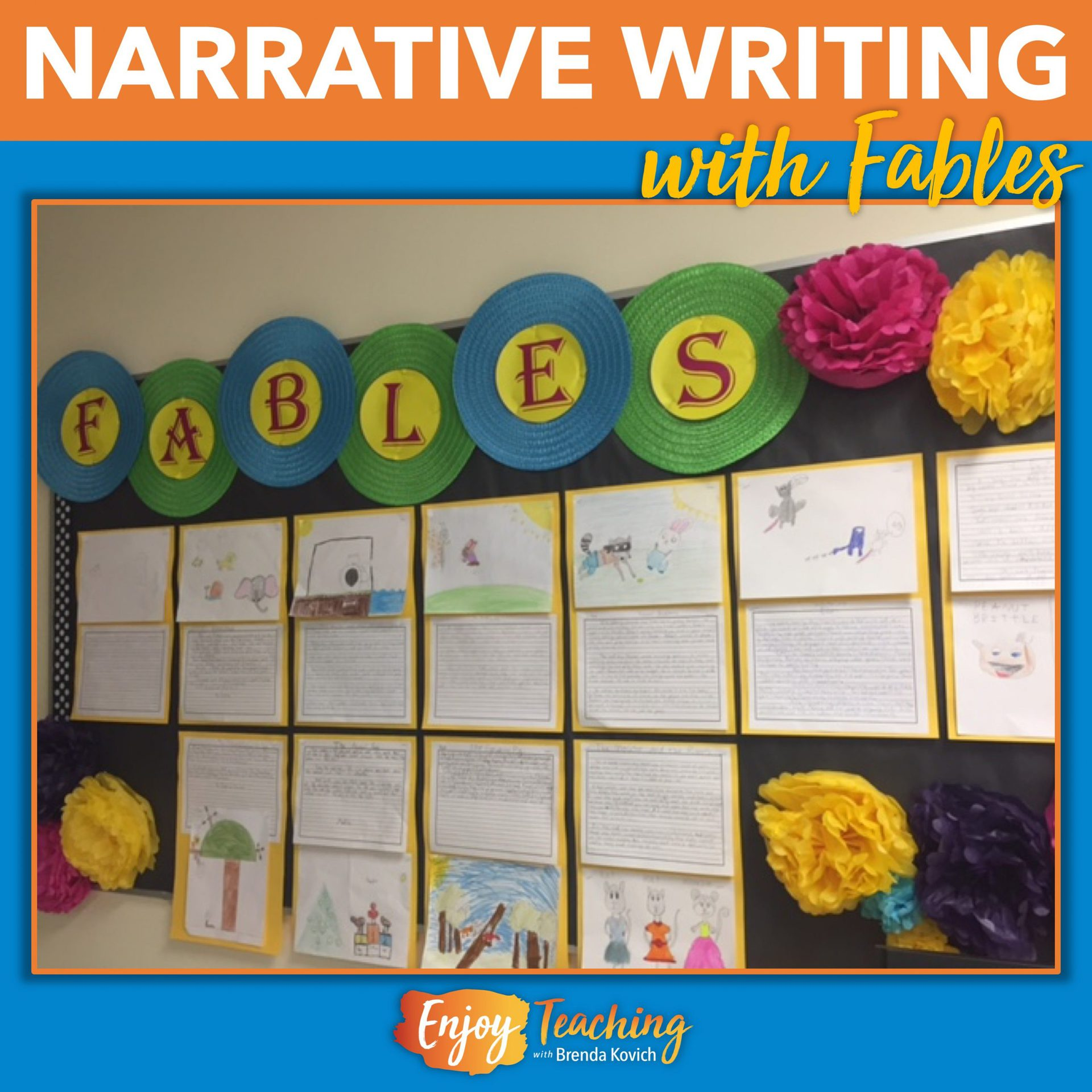 Fables First - Beginning Narrative Writing with Short, Simple Stories
