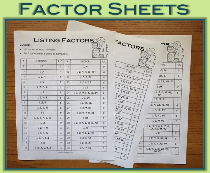 Listing Factors