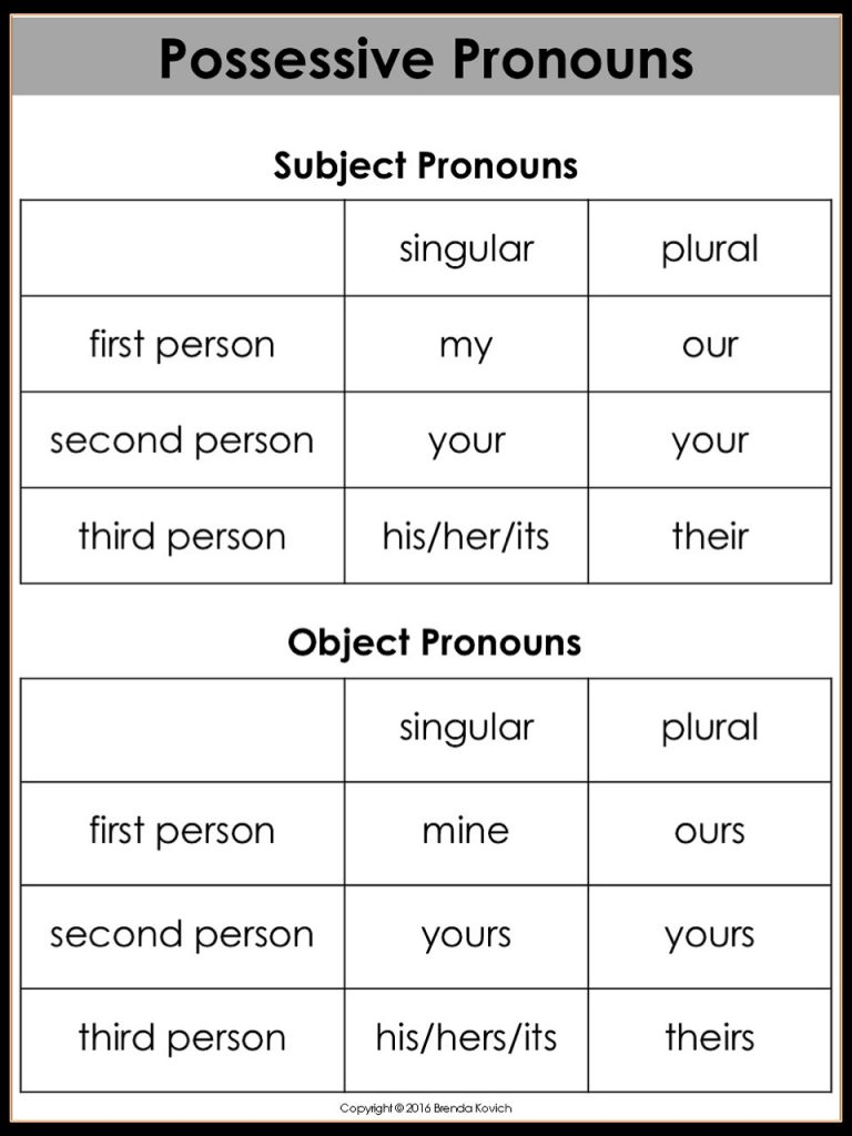 Teaching Possessive Nouns In Three Days Enjoy Teaching