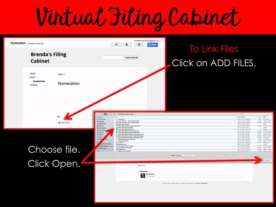 Virtual Filing Cabinets 8