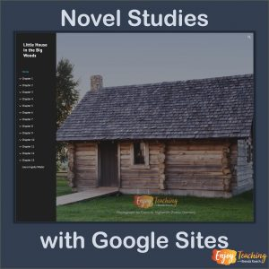 Digital Novel Studies with Google Sites