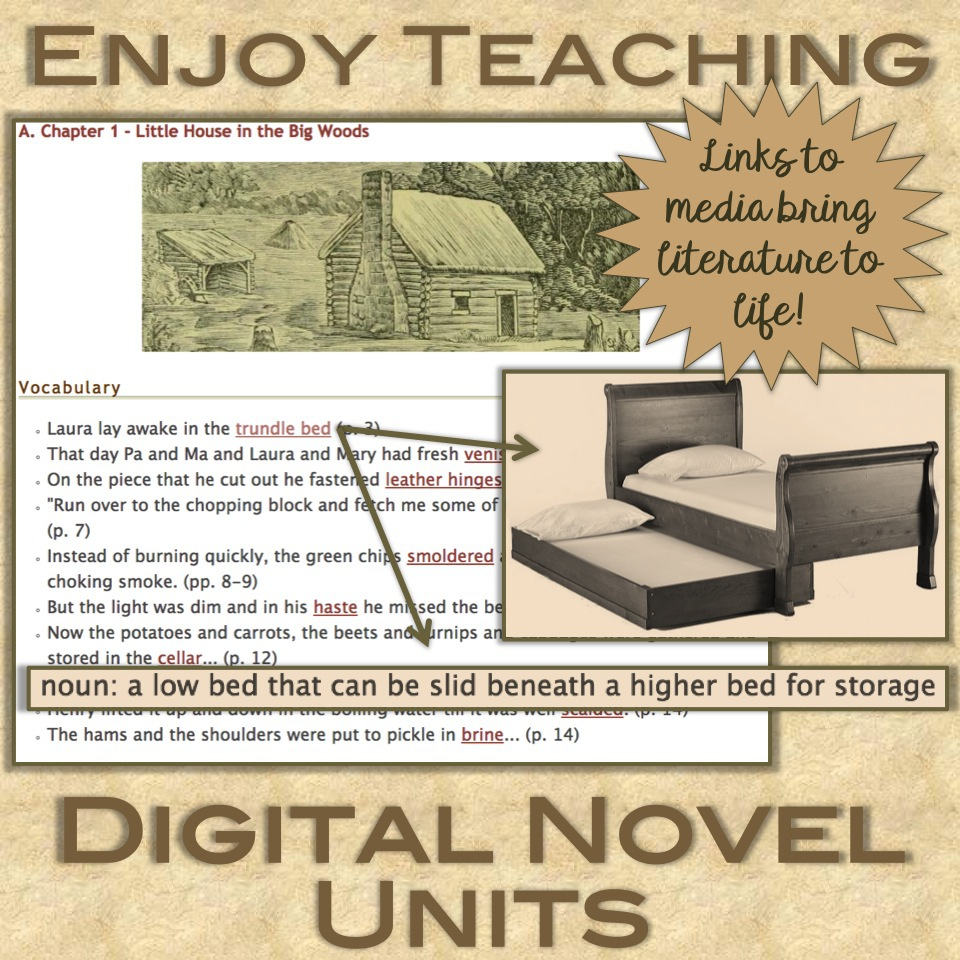 Digital Novel Units
