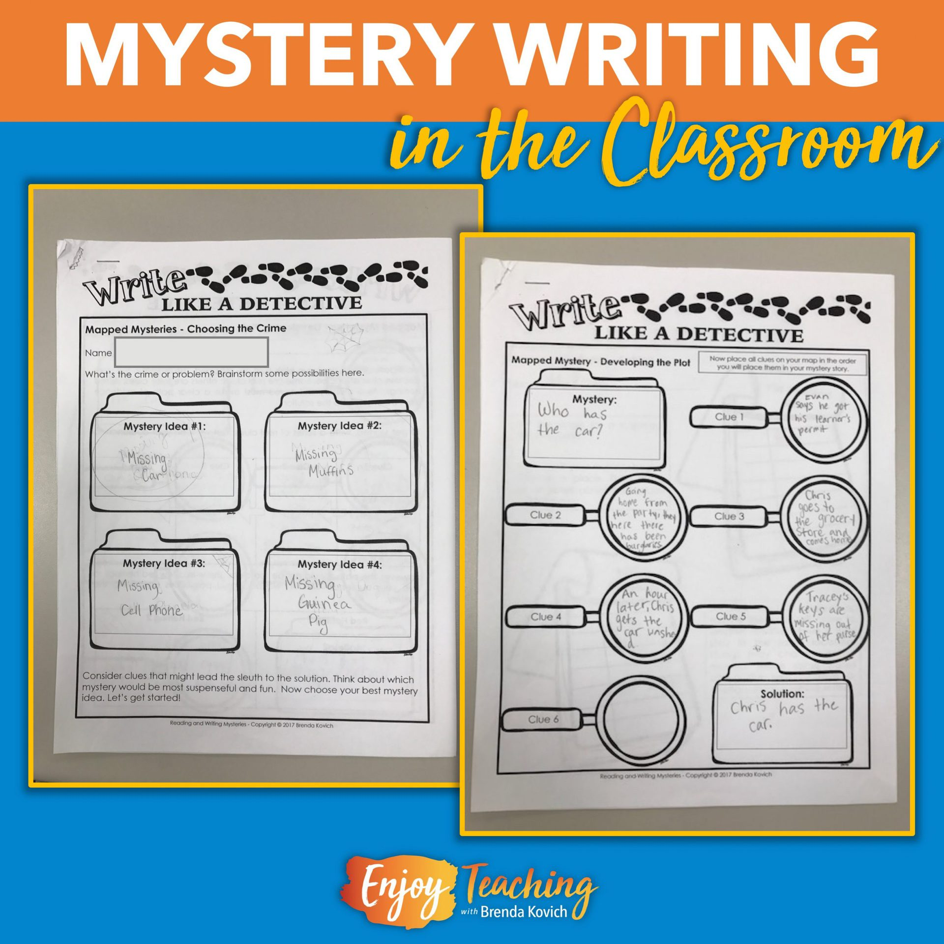 Mystery Elements: Mystery Writing For Kids: Narratives, Paper Bag Stories