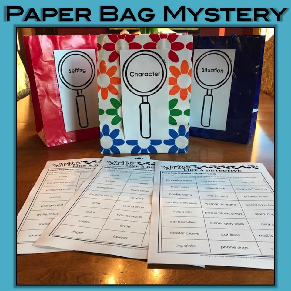 Mystery Writing - Paper Bag Mystery