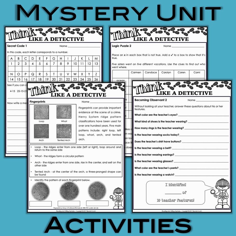 Mystery Novels 3