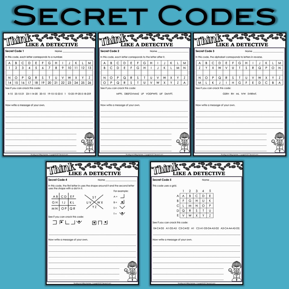 picture regarding Free Printable Mystery Games called Top secret Things to do for Young children - Believe that Together with a Detective!