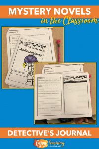 To help your students comprehend mystery novels, use detective's journals. Guided pages support readers in fourth and fifth grades.