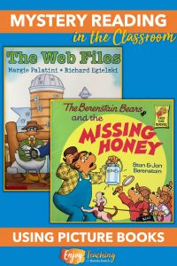 Before reading a mystery novel, try some short picture books.