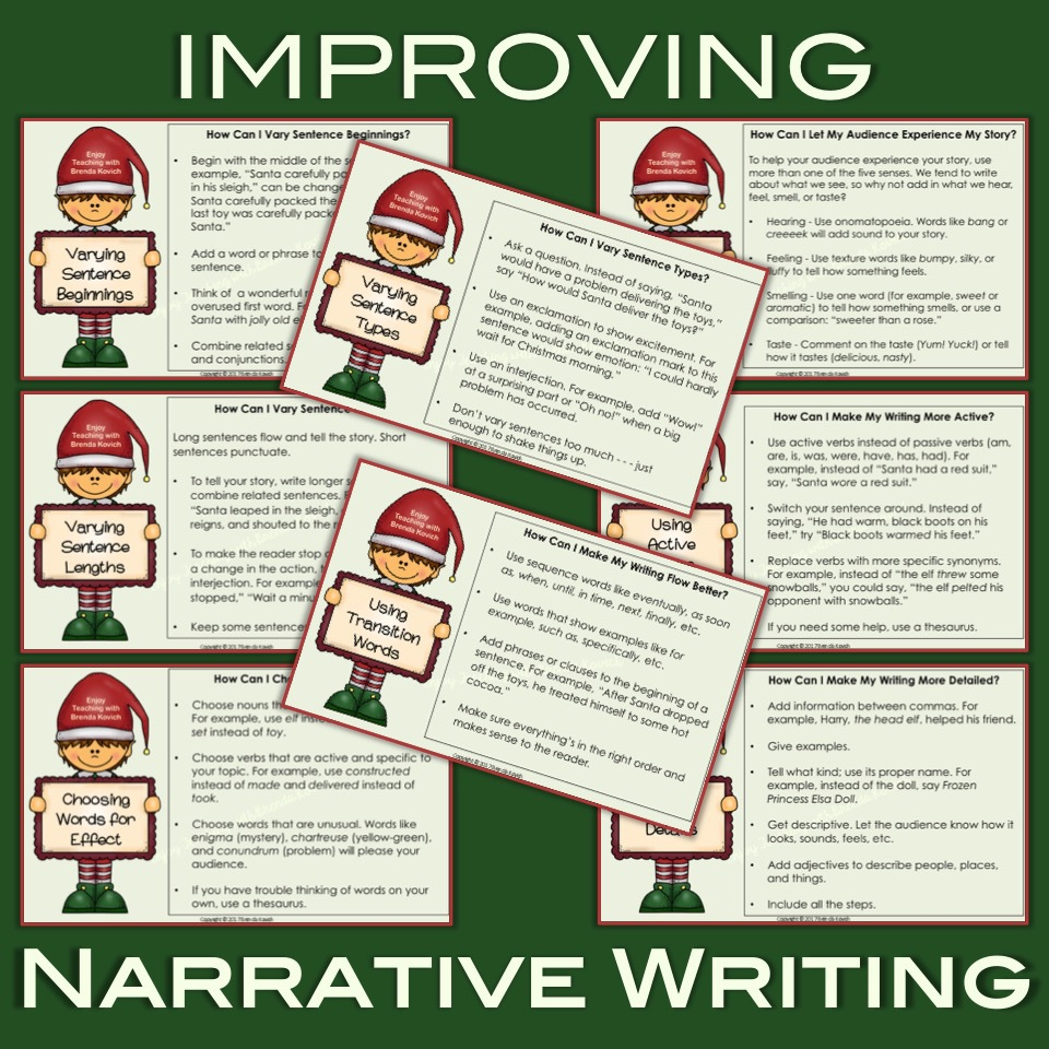 Improve Narrative Writing This Christmas