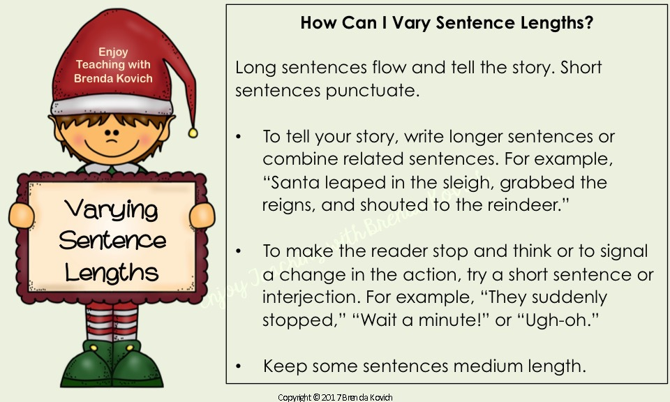 Improve Narrative Writing Christmas 3