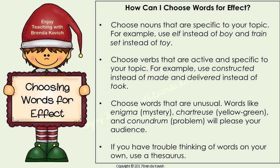 Improve Narrative Writing Christmas 4