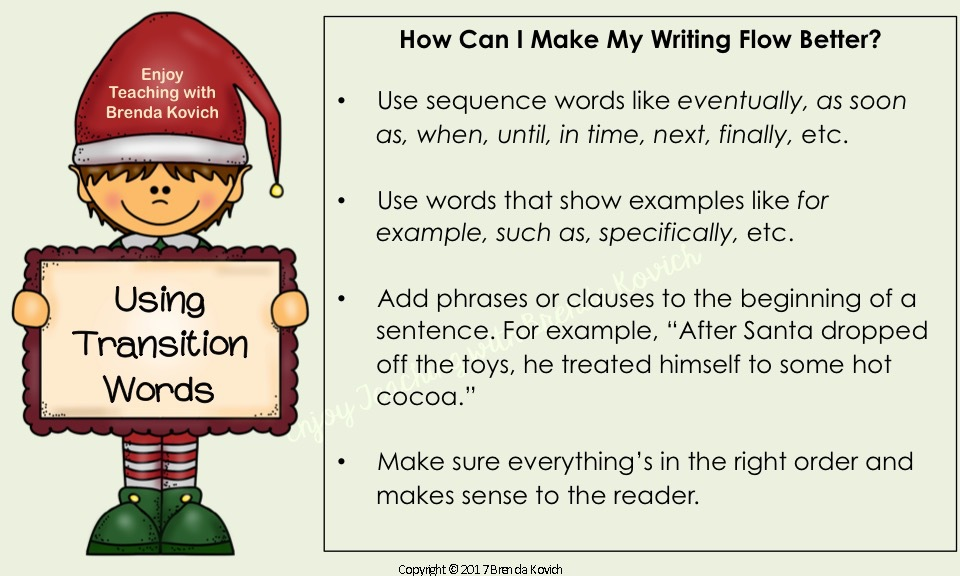 Improve Narrative Writing Christmas 8