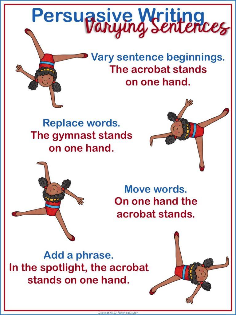 Varying Sentences