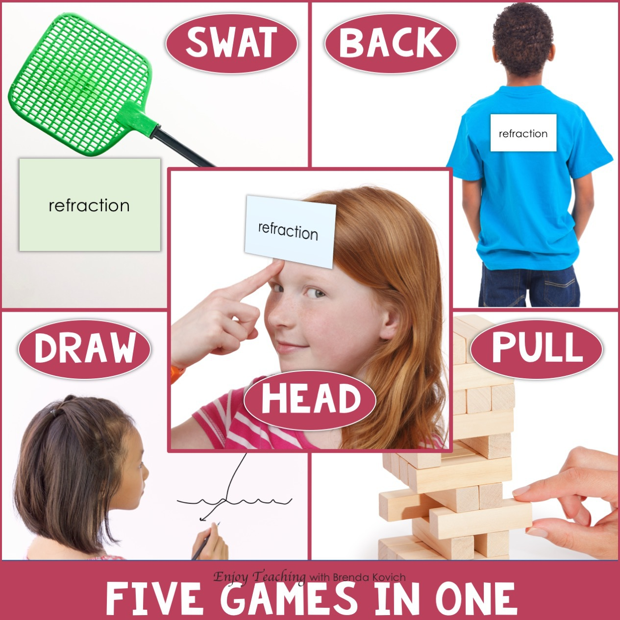 Classroom Games - Five Games in One