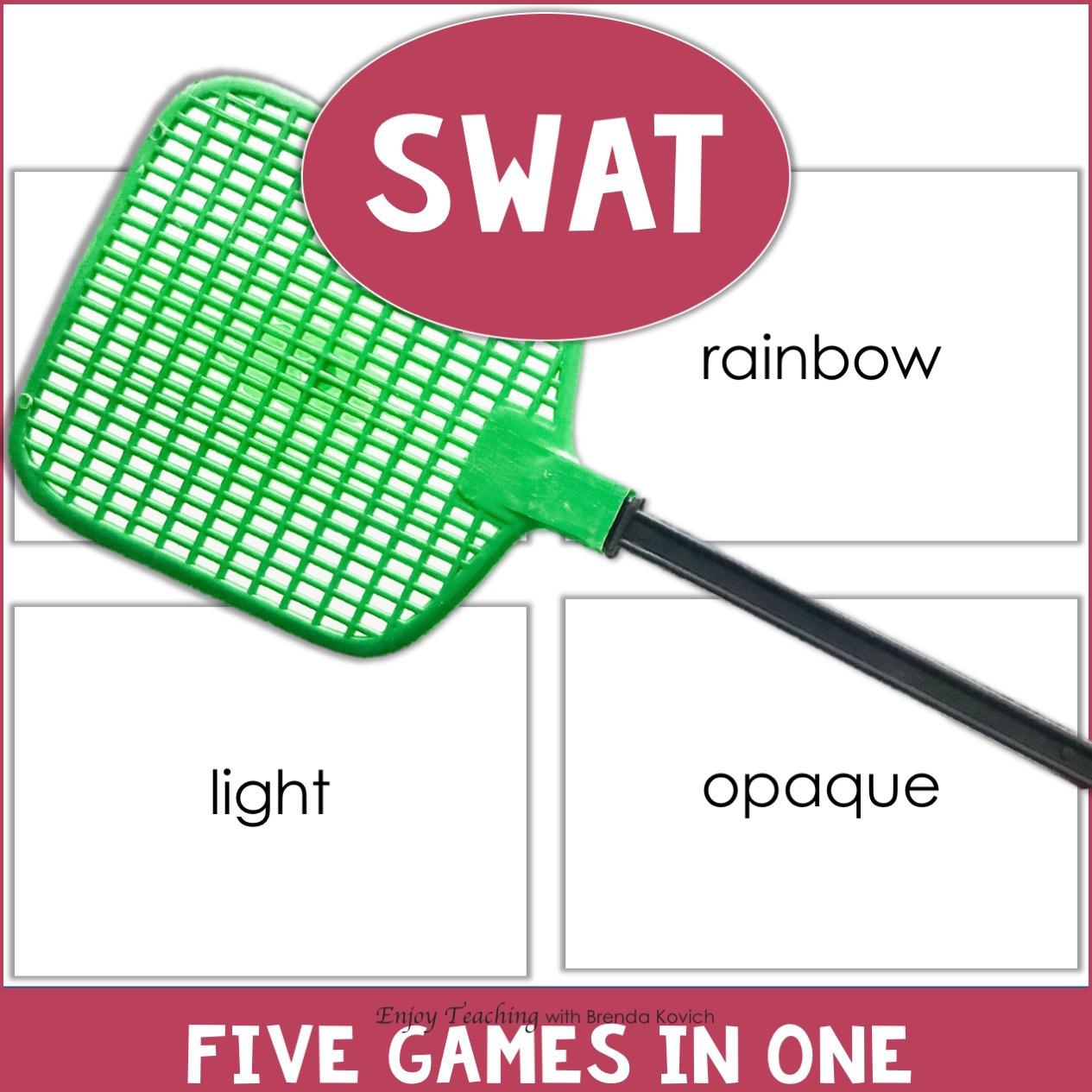 Classroom Games - Swat