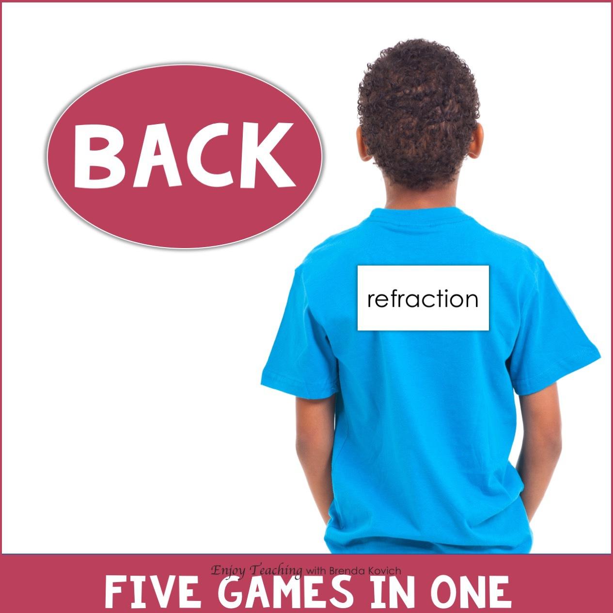 Classroom Games - Back