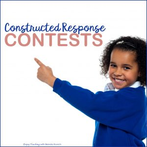 Make Constructed Response Fun - Contests