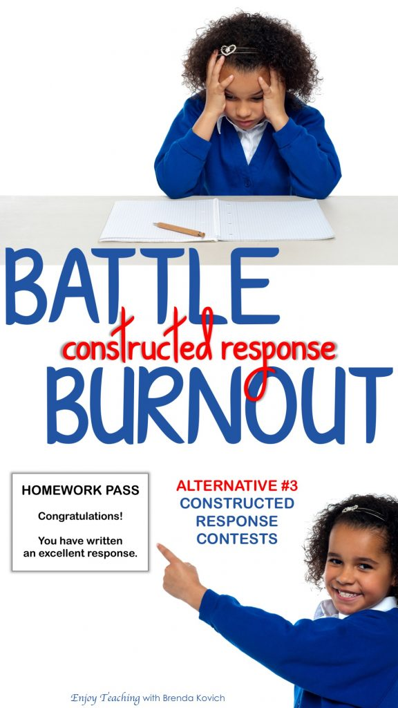 Classroom Contests - Constructed Response