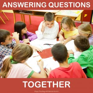 Make Constructed Response Fun - Answering Questions
