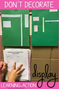 Decorate Your Classroom with Learning in Action