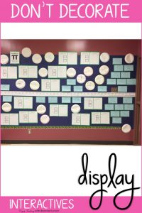 Decorate Your Classroom with Interactives